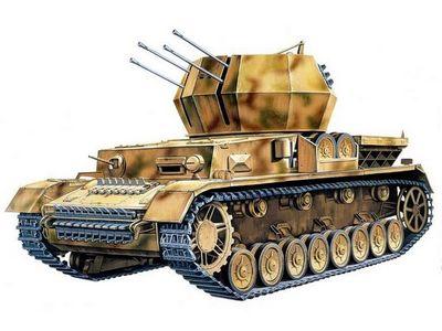 Зенитные танки вермахта