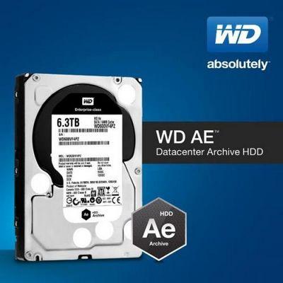 Жесткие диски wd ae предназначены для хранения «холодных» данных